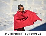 A Young Bhutanese Monk