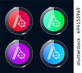 mace four color glass button ui ...