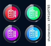 checklist four color glass...