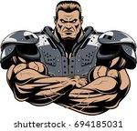 vector illustration of an... | Shutterstock .eps vector #694185031
