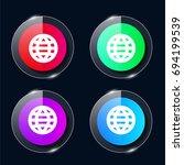 world web four color glass...
