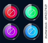 forbidden four color glass...