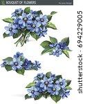 Common Hepatica Flowering In...