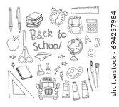 back to school | Shutterstock .eps vector #694237984