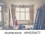 home renovation   old flat...