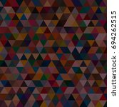 abstract geometric colorful... | Shutterstock .eps vector #694262515