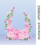 an illustration of a flower... | Shutterstock . vector #69428062