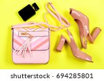fashion and accessories concept.... | Shutterstock . vector #694285801