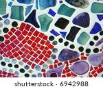abstract background made up of... | Shutterstock . vector #6942988