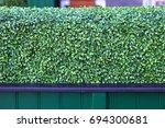 Artificial Plastic Green Hedge...