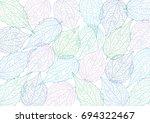 vector background contoured... | Shutterstock .eps vector #694322467