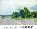 pleideslheim  germany   june 28 ... | Shutterstock . vector #694323985