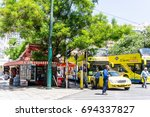 athens  greece   may 3  2017 ... | Shutterstock . vector #694337827