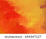 watercolor abstract background  ... | Shutterstock . vector #694347127