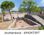 the venetian castle of...   Shutterstock . vector #694347397