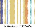 seamless vector summer pattern. ... | Shutterstock .eps vector #694374454