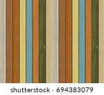 wood texture paint color... | Shutterstock .eps vector #694383079