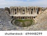 Roman Amphitheatre In The Ruin...