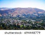 Cityscape View From Cerro San...
