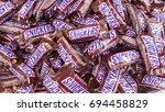 kazan  russian federation   jun ... | Shutterstock . vector #694458829