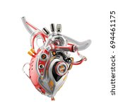 Smart Robotic Heart  3d...