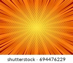 abstract comic book background  ... | Shutterstock .eps vector #694476229