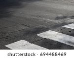 road safety picture. road... | Shutterstock . vector #694488469