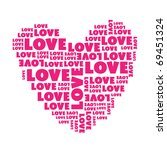 Sign Heart Writing Of Love