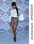 Small photo of LOS ANGELES - AUG 08: Angela Lewis arrives for the FOX TCA Summer Press Tour 2017 on August 8, 2017 in West Hollywood, CA