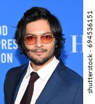Small photo of LOS ANGELES - AUG 02: Ali Fazal arrives for the HFPA's Grants Banquet on August 2, 2017 in Beverly Hills, CA