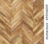 seamless wood parquet texture ... | Shutterstock . vector #694546045
