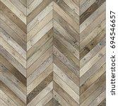 seamless wood parquet texture ... | Shutterstock . vector #694546657