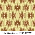 stylish geometric background.... | Shutterstock .eps vector #694551757