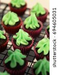 Yummy Chocolate Cupcakes In...