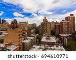 manhattan  ny  august 8  2017   ... | Shutterstock . vector #694610971