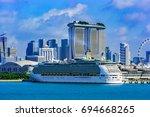 singapore  malaysia   jan 06 ... | Shutterstock . vector #694668265