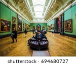london  uk   circa june 2017 ...   Shutterstock . vector #694680727