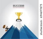 business women    Shutterstock .eps vector #694697875