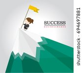 business women    Shutterstock .eps vector #694697881