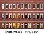 facade of office building in... | Shutterstock . vector #69471154