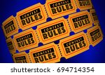 contest rules eligibility... | Shutterstock . vector #694714354