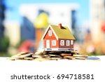 real estate investment | Shutterstock . vector #694718581