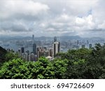 the peak in hongkong | Shutterstock . vector #694726609