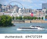 montreal canada 08 08 17  la... | Shutterstock . vector #694737259