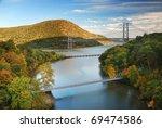 Hudson River Valley In Autumn...