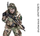 special forces united states in ... | Shutterstock . vector #694790875
