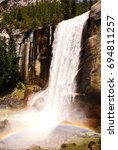 Vernal Falls In Spring....