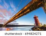 George Washington Bridge And...