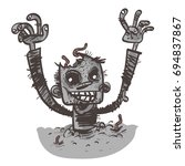 vector illustration of a... | Shutterstock .eps vector #694837867