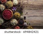 natural medicine | Shutterstock . vector #694842421